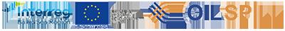 Interreg-logo ja Oil Spill -hankkeen logot