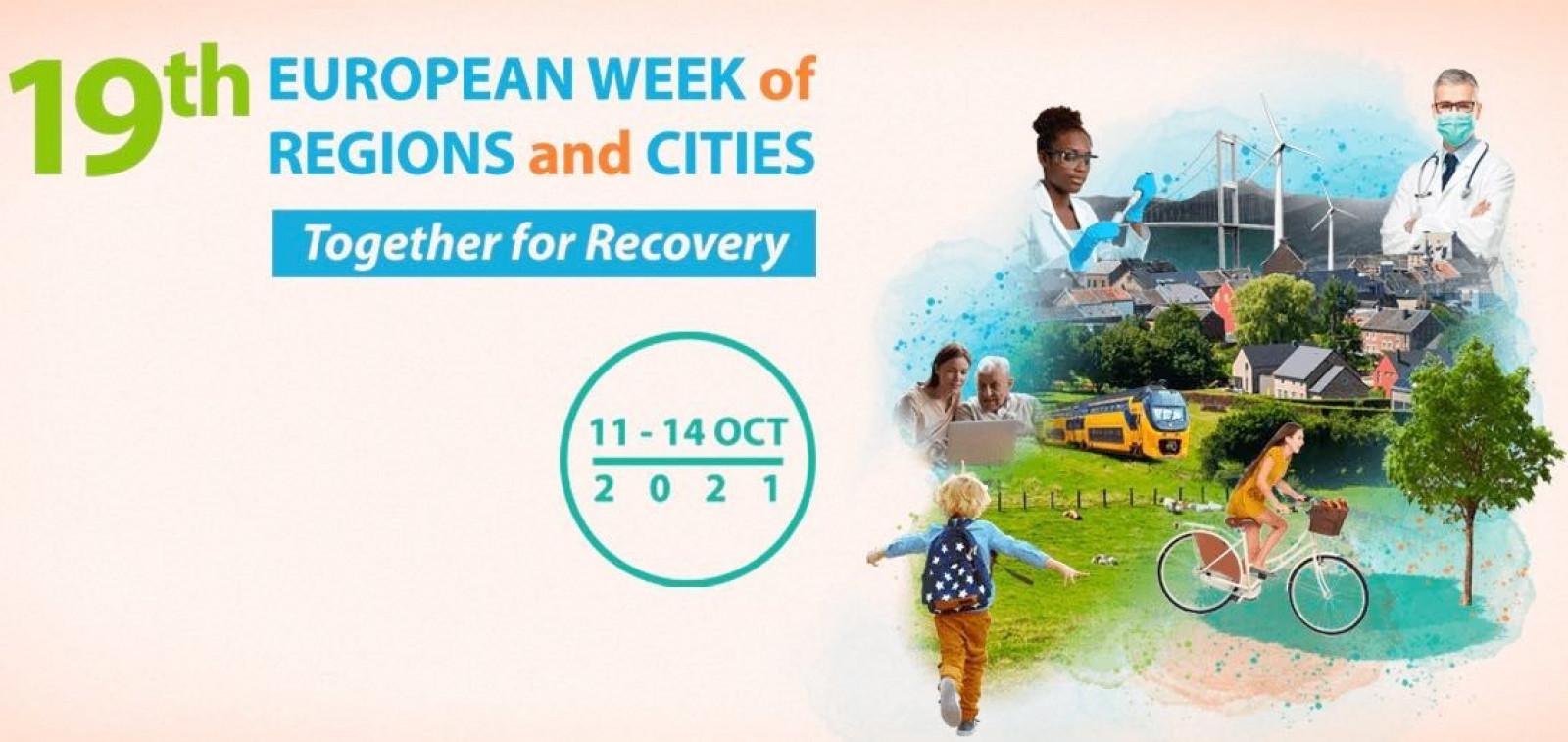 EU Regions Week 2021 tapahtumajuliste